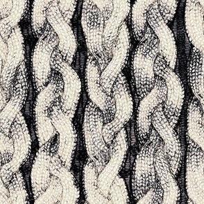 Bleached C Knit