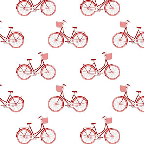 Red Pink Bicycle