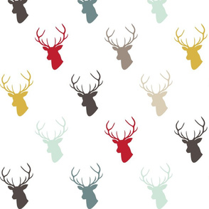 Modern Deer with custom Red
