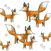 Foxes + Hearts