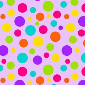 Happy Dots Lavender