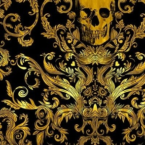 Dread Damask in Gilded