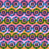 Tiny Batik Wheels