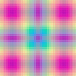 Rainbow Plaid 02