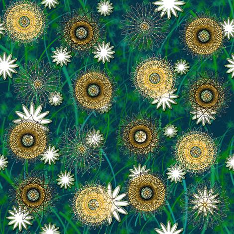 Noon in the Spiral Garden
