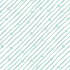 Diagonal Rain Mint
