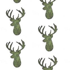Camo Deer Head