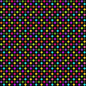 CheckerboardFancyHappyBlackMini