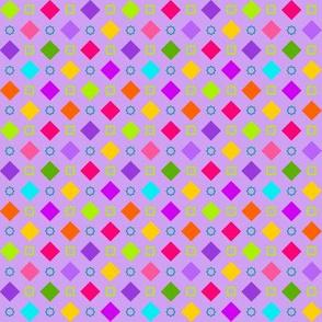 Checkerboard Fancy Lavender