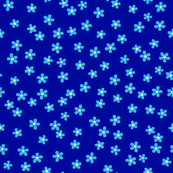 Forget-me-not (blue background)