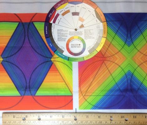Three Petal Fold Rainbow Hue