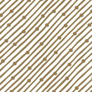 Diagonal Rain Brown