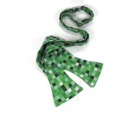 Green 8-bit Print