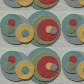 Soft Paper Swatch Circles
