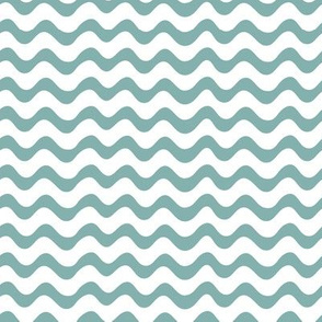 Teal Waves