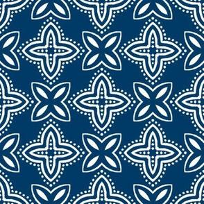 Chinese Indigo Tiles ~ Bian ~ Variation Shyr Yi