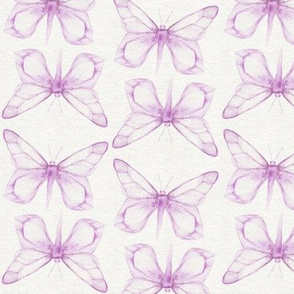 Watercolor Butterflies - Pink