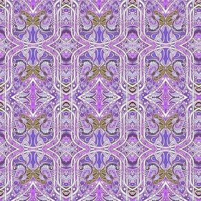 Peck of Purple Paisley