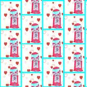 Heart Bubble Gum
