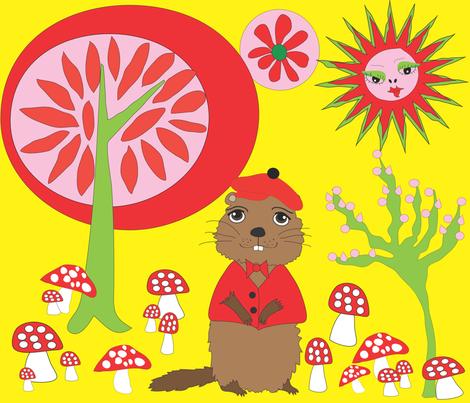 Groundhog in the Sun