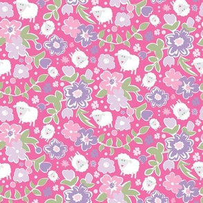 Shabby Sheep Pink