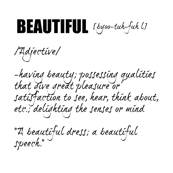 Beautiful - dictionary collection