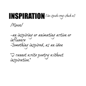 Inspiration - dictionary collection