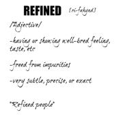 Refined - dictionary collection