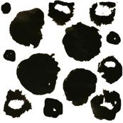 crazy painted dots - elvelyckan