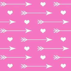 Hearts And Arrows Pink