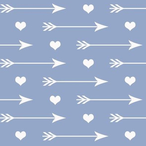 Hearts And Arrows Blue