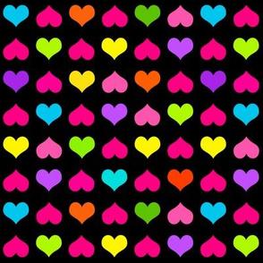 Plenty Of Hearts Multi Black