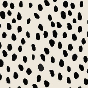 Printemps in Ebony / Tint Dots