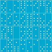 Domino Universe (Light Blue)