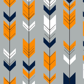 Fletching arrows // grey