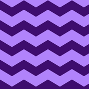 Purple Chevron - Mix & Match Kids