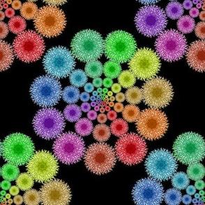 Dandelion Rainbow 1