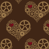 Dark Steampunk Heart