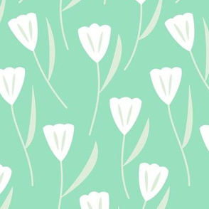 Tulips (Mint)