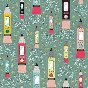 Pencil Rockets