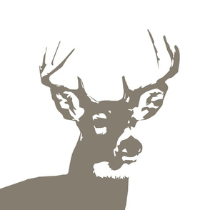 Brown Buck // Pillow Covers