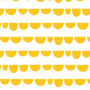 Sunny Stormy Scallops Yellow