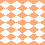 geometric peach