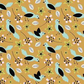 Hello Birdie-Mustard & Mint