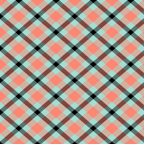 black_coral_mint tartan
