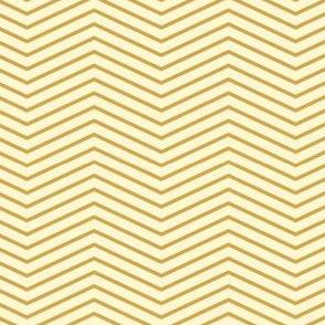 Art Deco Chevron, Gold