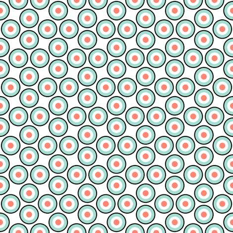 many mod dots - pale