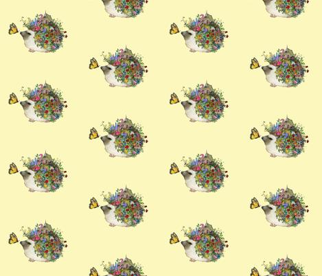 Hedgehog garden (yellow)