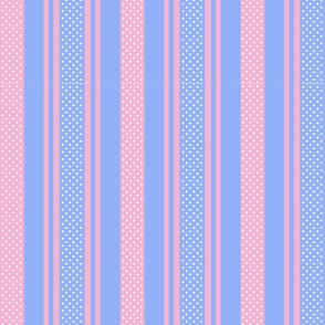 Pastel sriped stars patterns