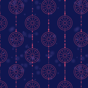 Blue-circles